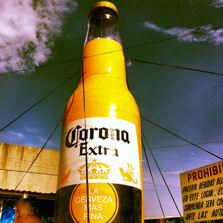 Corona extra gigante. Cerveza, Corona extra y Coronas
