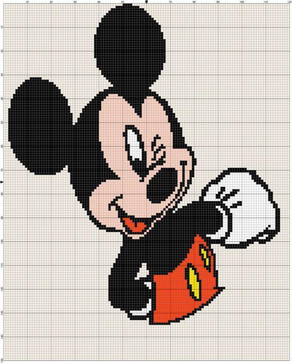 Free Disney Crochet Graph Patterns : 17 b?sta bilder om sagofigurer p? Pinterest Disney ...