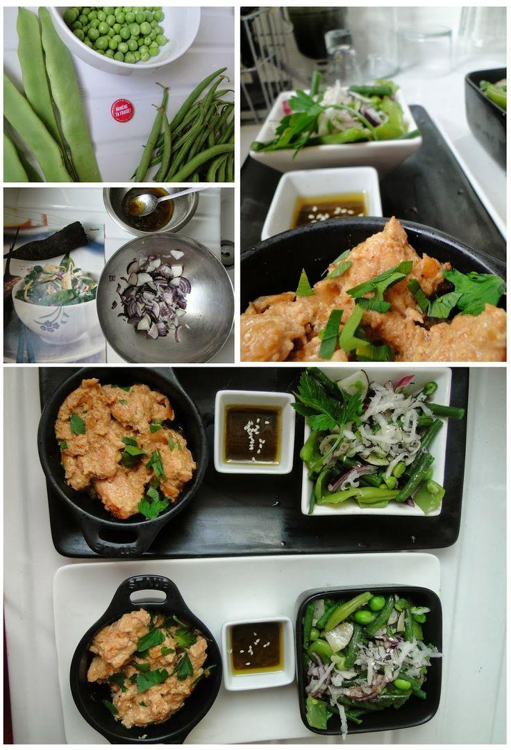 Folie al dente: Poulet au riesling et salade croquante