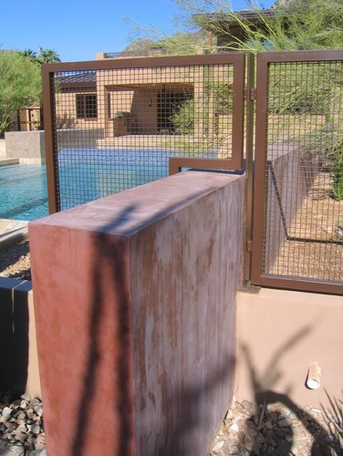Contemporary Pool Fence Design, Pictures, Remodel, Decor and Ideas