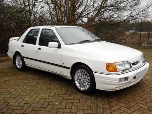 1989 Ford Sierra RS Cosworth #Ford #Cosworth #ClassicCar