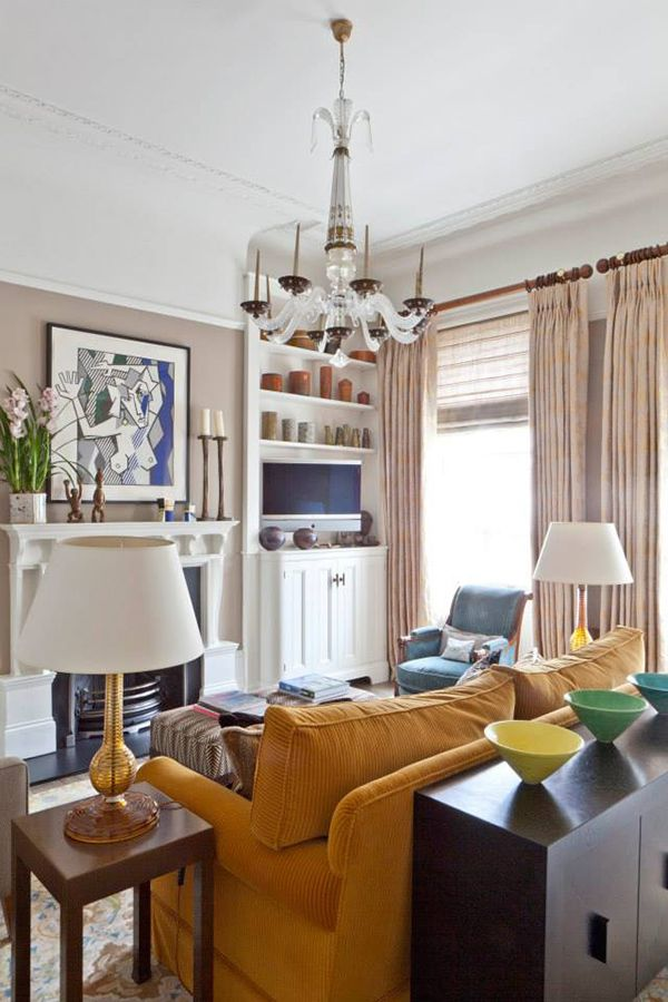 British interior designer Amanda Baring set out to create uplifting and  uncomplicated interiors.