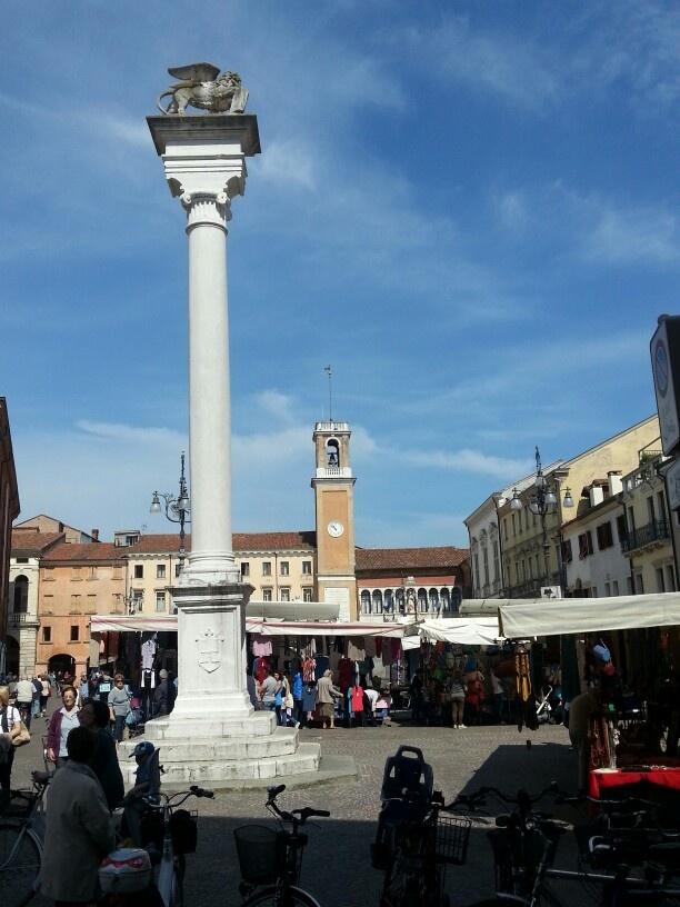 Piazza da Rovigo - Province of Rovigo, Veneto region Italy