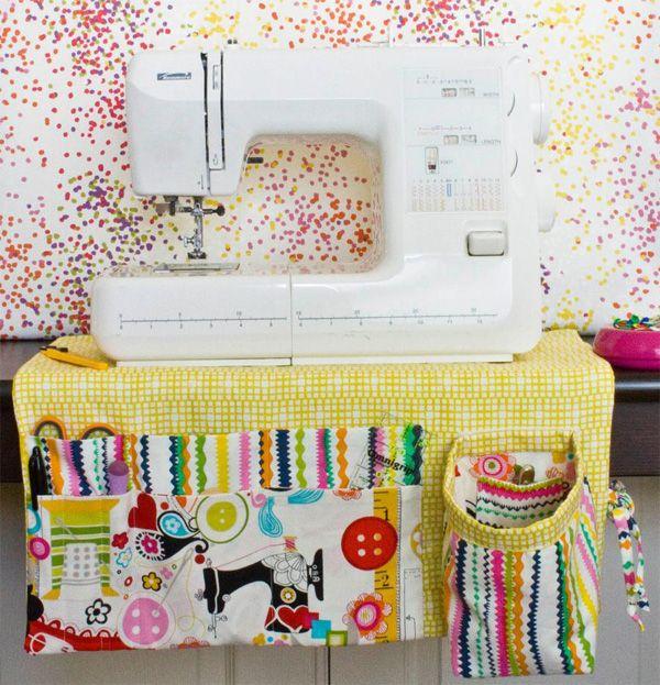 Sewing machine apron pattern.