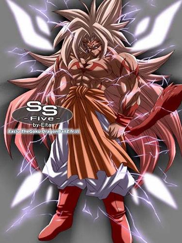 goku ssj5 in his evil form | Flickr - Photo Sharing!