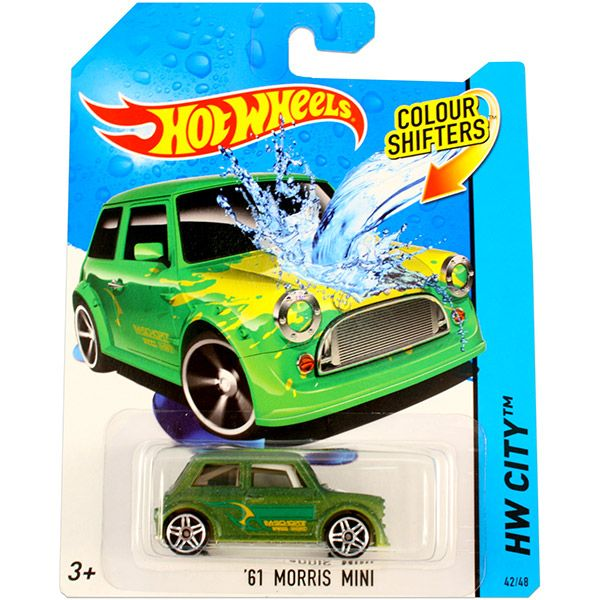 Hot Wheels City: színváltós 61 Morris Mini kisautó