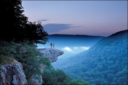 Great view! Whitaker Point; Boxley, Ark.