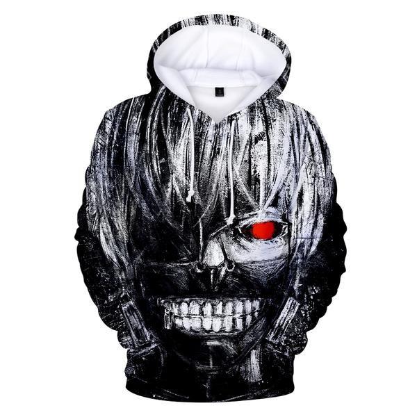 Tokyo ghoul anime vêtements sweat Kaneki Tokyo Ghoul RE Anime hoodie
