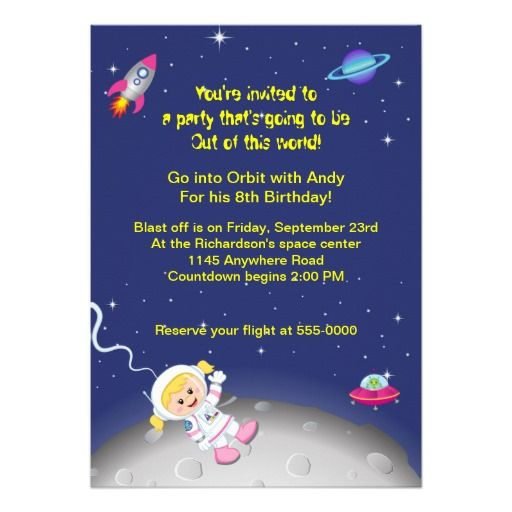 363 Best Ideas About Outer Space Birthday Party