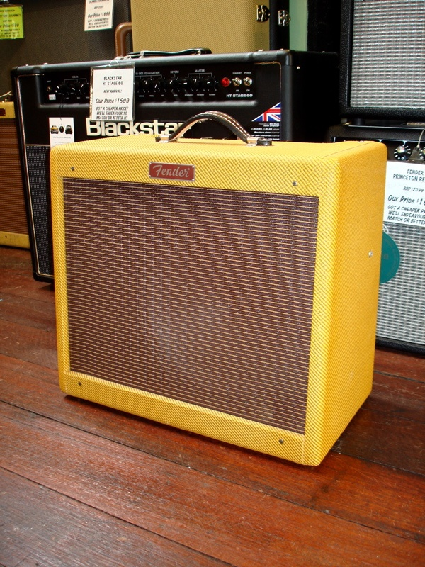 Fender Blues Jr tweed amp. Perfect starter amp, lots of bluesy reverb that I love. Birthday?