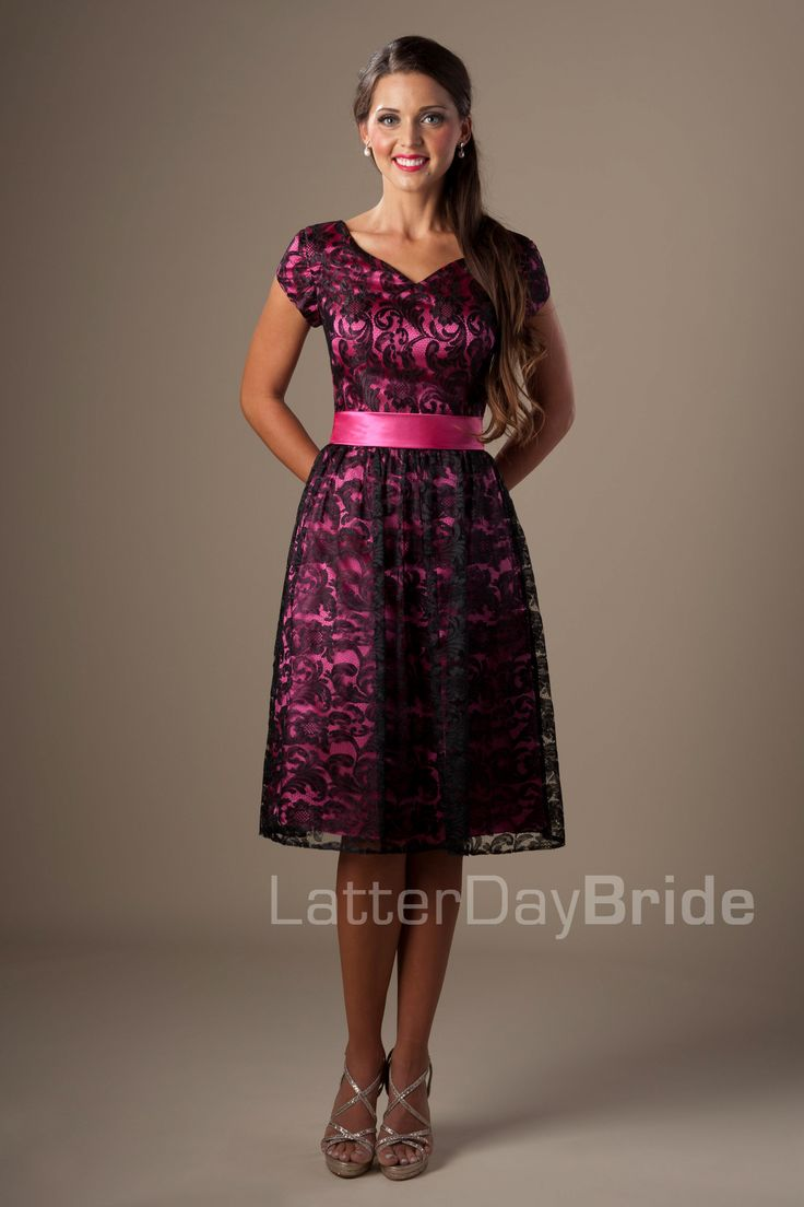 202 Best Images About Modest Bridesmaid Dresses On
