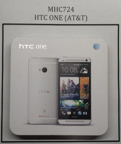 "HTC One 32GB 4G LTE AT&T Unlocked GSM Android Phone w/ Beats Audio - Silver. The HTC One features a 4.7"" full HD display and is powered by the Snapdragon 600, a quad-core chip, plus an enhanced stereo sound. Internal Memory: 32GB, 2GB RAM, Non-removable Li-Po 2300 mAh Battery. Android v4.3 Jelly Bean (upgradeable), Quad-Core 1.7 GHz Krait 300 Processor, Chipset: Qualcomm APQ864T Snapdragon 6, Adreno 320 Graphics. Gsm 850 / 900 / 1800 / 1900, 3g: Hsdpa 850 / 900 / 1900 / 2100, 4g:..."
