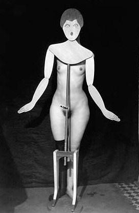 Man Ray, foto van het Cabaret Voltaire, Dada, Zürich