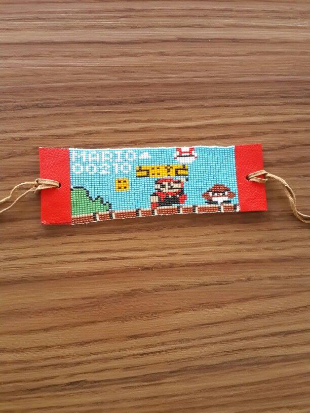 Mario loom bead bracelet pattern