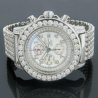 Breitling diamonds wow! #diamondwatch