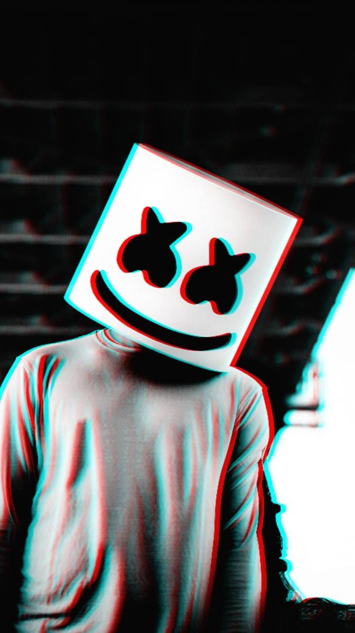 Download Marshmello 3D Wallpaper by RokoVladovic 40