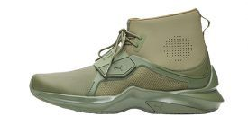 Rihanna x PUMA Fenty Trainer Hi Green Cypress 190398-02 Buy New Sneakers Trainers FOR Man Women in UK Europe EU 06