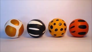 Juggling Balls  https://www.youtube.com/results?search_query=shaun and kyra          DIY «Jungling» Balls. How to make jungle animal safari juggling balls with party balloons and rice… great for Birthday parties, Circus acts and Magic shows!