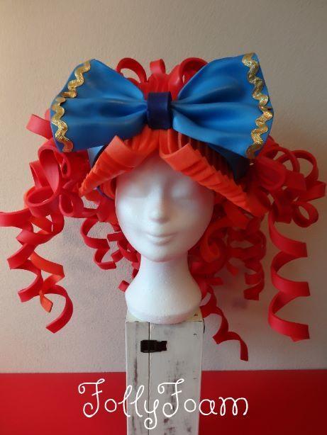 Made of foam from FollyFoam! Leuke foampruik voor carnaval, cosplay, theater of feesten!