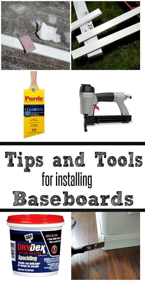 How to Paint and Install Baseboards | Crafting in the Rain
