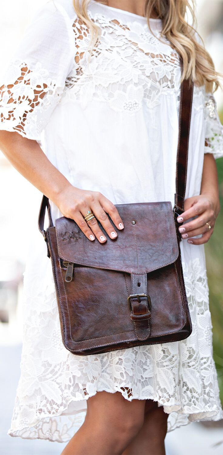 BEDSTU distressed brown leather cross body bag. Perfect size to carry all  of your daily must have s. 80d67ccc83bc6
