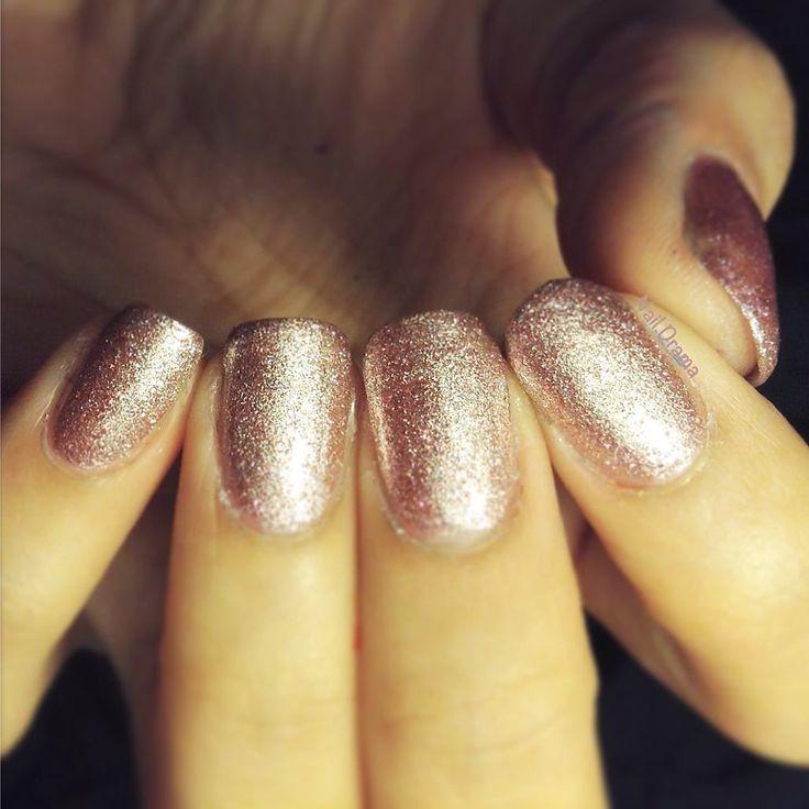 "Three coats of ""Pink Silver Glitter"" by @barrymaus  @barrymcosmetics #nailstagram  #elegantnails #nailstyle  #prettynails #newbienailartist #beginnersnails  #lovenails # #cutenails  #yellow #candylicious #beautifulnails #nailaddict #adorable #valentinesnails #heartnails #bemine #diynails #freehandartist #dotticure #easynails #adorable #coralpink  #springnails #funnails #nailstoinspire #barrymcosmetics #barrymnails #swatch #scra2ch by nail.drama"