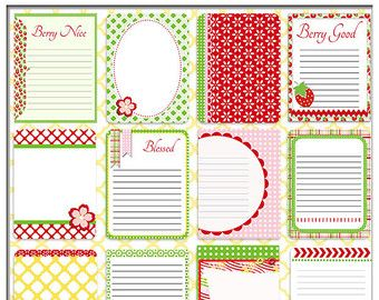 Pretty Bible Journal Cards Project Life by DigiScrapDelights