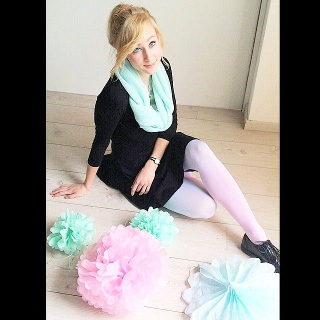 zsofireka in our ombre tights on Instagram :)