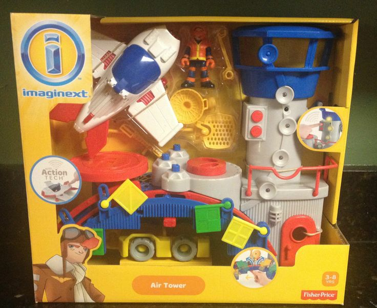 Fisher Price Imaginext Rescue City Air Tower Airport ...