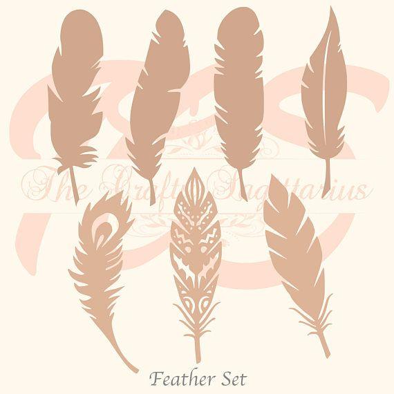 SVG Feathers Set-7 Kinds for your Paper Flower Arrangements- MACHINE use Only (Cricut n Silhouette) DIY & Handmade to Boast Bohemian looks https://www.etsy.com/listing/567975863/svg-feathers-set-7-kinds-for-your-paper?utm_content=buffer8f320&utm_medium=social&utm_source=pinterest.com&utm_campaign=buffer