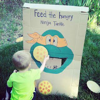 TMNJ birthday party. Teenage Mutant Ninja Turtle party