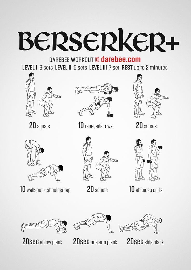 Berserker Plus Workout