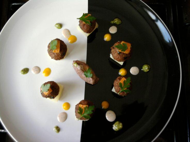 Gino D'Aquino / Vitello  patate  patè di fegato di vitello