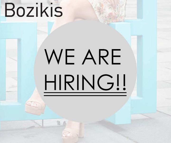 💎Η ομάδα του Bozikis.gr μεγαλώνει!  Είσαι δημιουργικό άτομο με αγάπη στη μόδα και τα παπούτσια; Έχεις σπουδές γραφιστικής ή φωτογραφίας; Θες να εργαστείς στον χώρο της μόδας?  Εάν η απάντηση σου στις ερωτήσεις, είναι «ΝΑΙ!» περιμένουμε το βιογραφικό σου στο info@bozikis.gr για να σε γνωρίσουμε από κοντά!😊 #hotshoes #forsale #ilike #shoeslover #like4lik #shoes #niceshoes #sportshoes #hotshoes