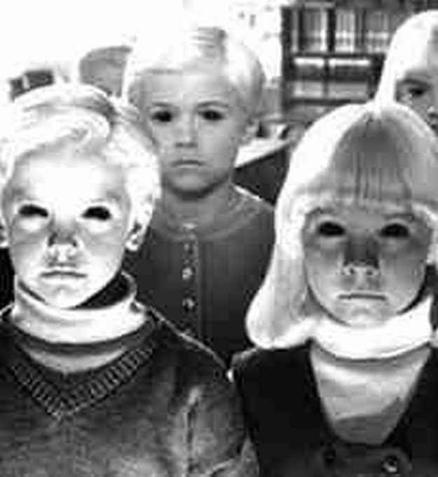 It's the black eyed kids (BEK)! The myth of the BEKs is that they would nock on your door saying they are lost. If u let them in you go missing a couple days later. If u refuse to let them in they kill u then. Creepy legend huh - Sarah J
