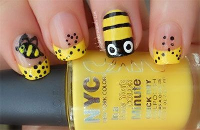 Easy Farm Animals Nail Art Designs & Ideas 2013/ 2014 | Fabulous Nail Art Designs