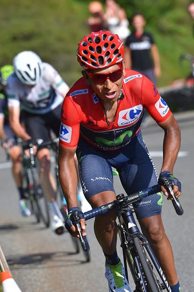 Tour of Spain 2016 Stage 14 Nairo Quintana Christopher Froome Col Aubisque / Tim de Waele Getty Images