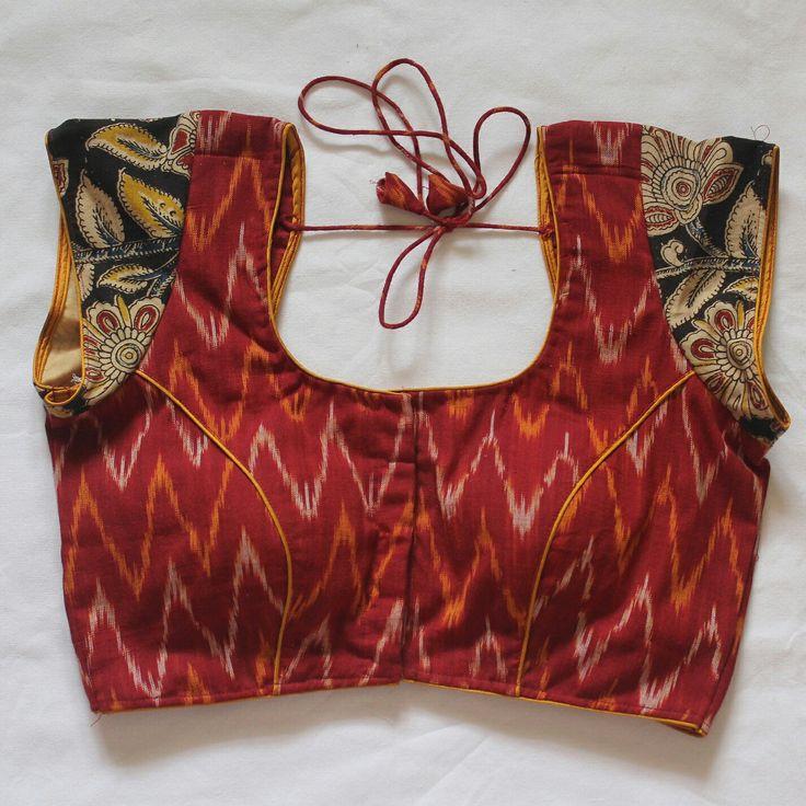 Kalamkari blouse, www.vikaboutique.com