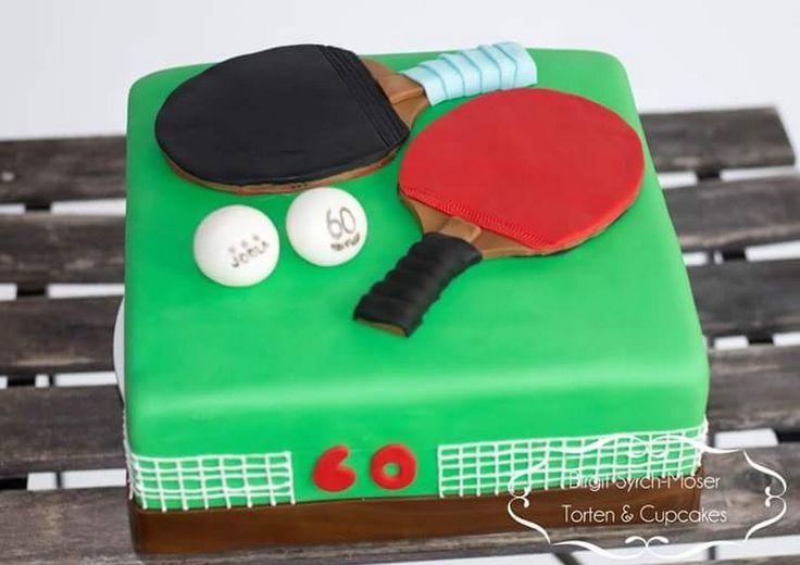 Geburtstagstorte, Tischtennis, Table Tennis, Ping Pong - Birgit Syrch-Moser - Google+