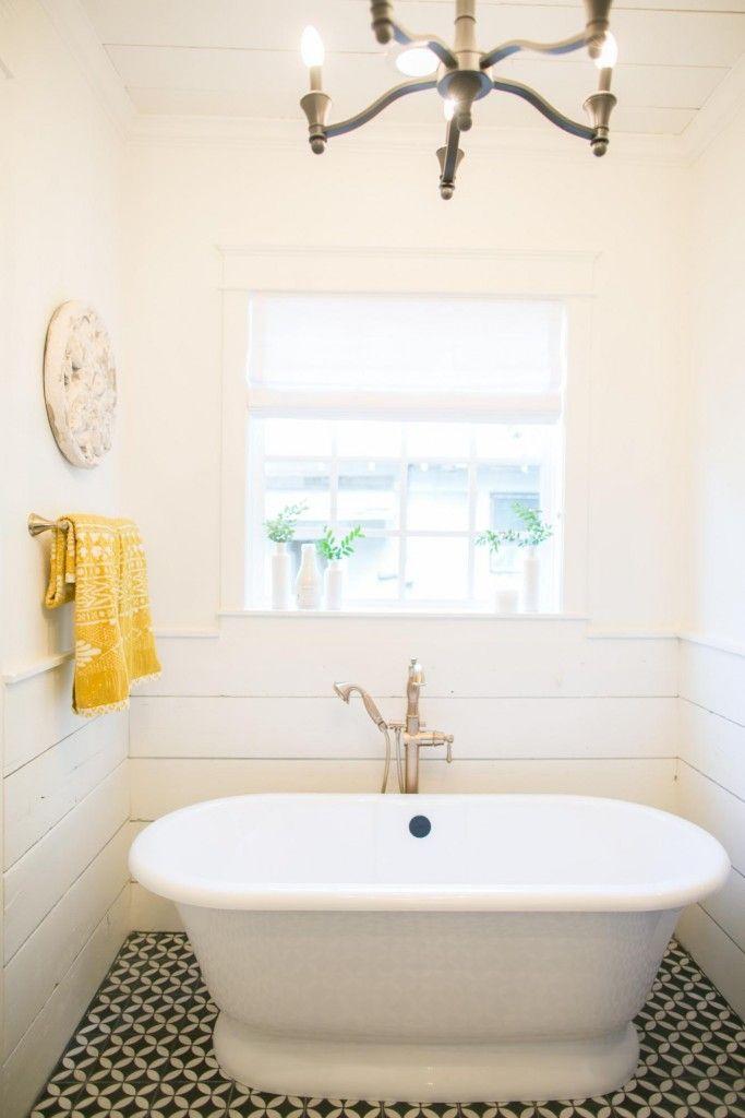 The 3 Little Pigs House | Season 3 | Fixer Upper | Magnolia Market | Bathroom | Chip & Joanna Gaines | Waco, TX