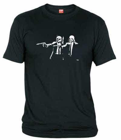 Al igual que Vincent y Jules en Pulp Fiction, Boba Fett y Darth Vader son compañeros inseparables para cazar y aniquilar asquerosos rebeldes... ¿o acaso hay alguna relación entre ambas películas?