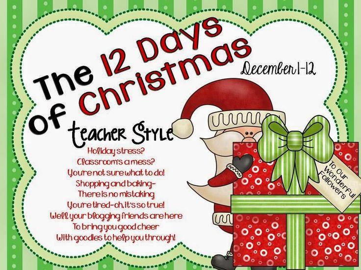 LMN Tree: 12 Days Of Christmas-Teacher Style Linky Party