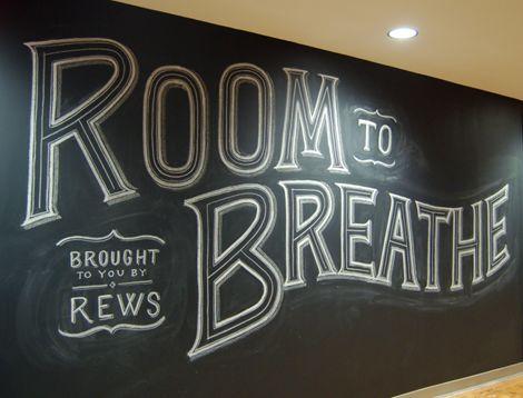 Room to breathe: Chalkboards Letters, Chalk Letters, Hands Letters, Graphics Design, Chalkboards Art, Chalk Typography, Hands Drawn, Chalk Art, My Tanamachi