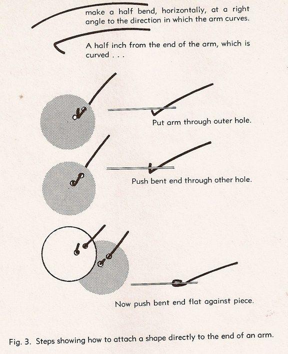 inspired by alexander calder, diy mobiles from : MOBILE DESIGN BY JOHN LYNCH (1955)
