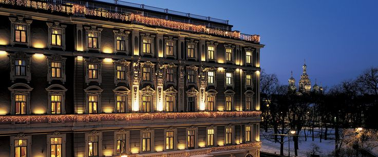 Grand Hotel Europe - Orient-Express Hotels #grandhoteleurope #orientexpress #hotels #stpetersburg