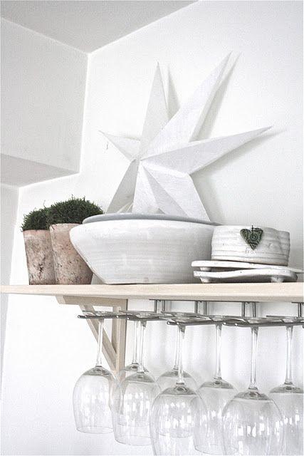 ♥: Decor Ideas, Decoration, Decorating Ideas, Hanging Glasses, Offices Ideas, Cool Ideas, Desk Ideas, Desks Ideas, Design