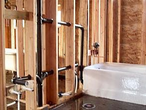 67 best bathroom plumbing images on pinterest bathroom for New construction plumbing rough in