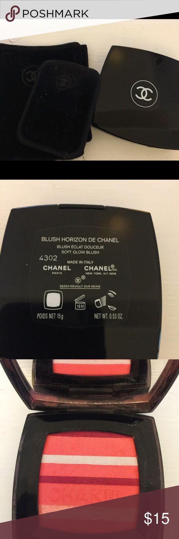 CHANEL BLUSH USED CHANEL BLUSH USED TWICE CHANEL Makeup Blush