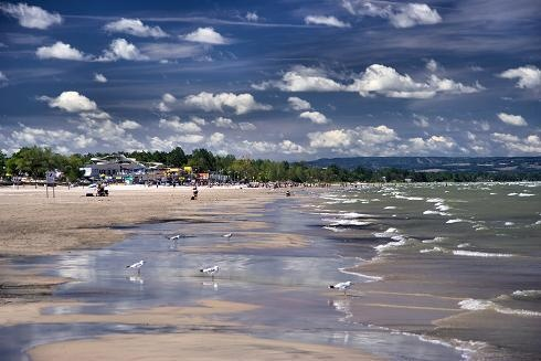 Wasaga Beach, Ontario, Canada  We visited here many years ago.