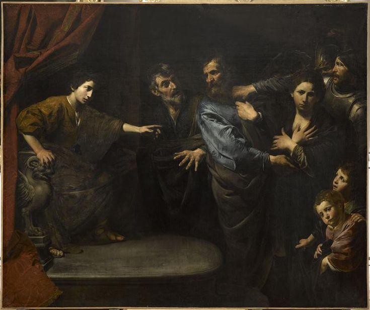 Valentin de Boulogne, L'innocence de Suzanne reconnue (v. 1625) - Musée du Louvre